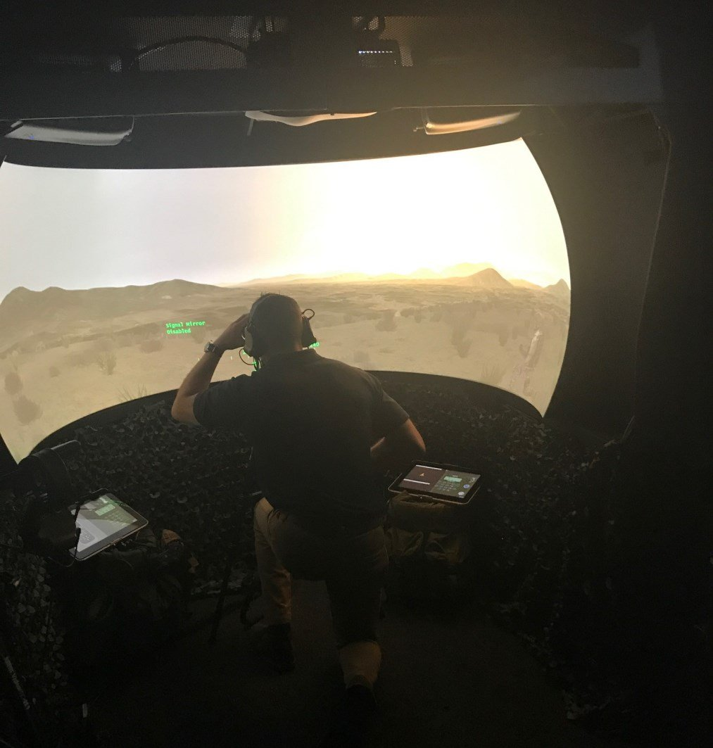 Mobile CAS and Joint Fires Simulator Delivered to the British Army by Elbit Systems UK