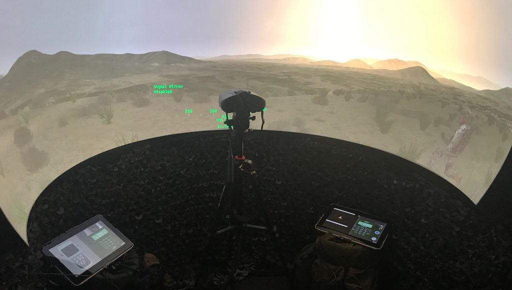 mobile-cas-and-joint-fires-simulator-delivered-to-the-british-army-by-elbit-systems-uk