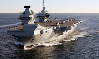 The Defence Company Babcock Received a HMS Queen Elizabeth Maintenance Contract