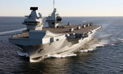 The UK HMS Queen Elizabeth and HMS Prince of Wales Will Be Supported by BAE Systems