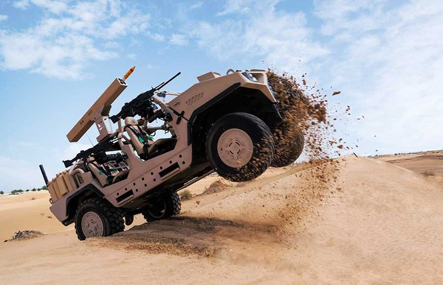 Arnold-Defense-to-display-FLETCHER-Laser-Guided-Rocket-Launcher-at-IDEX