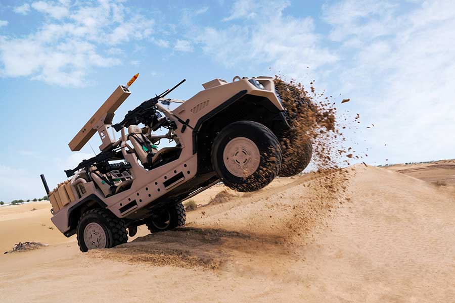 Arnold Defense to display FLETCHER Laser Guided Rocket Launcher at IDEX