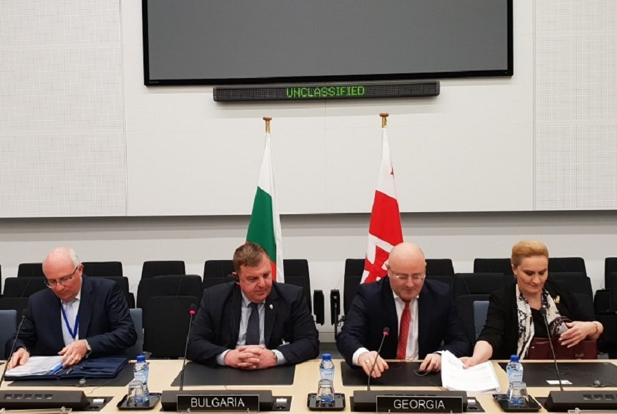 Bulgaria's Defence Minister Krasimir Karakachanov Takes Part in the Meetings of NATO Defence Ministers