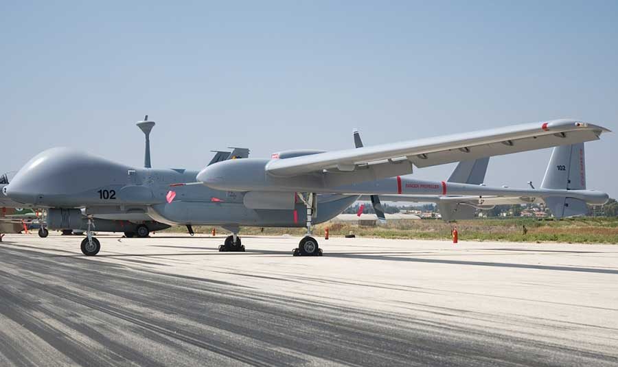German Heron-TP Crews Have Begun Training in the Israeli Tel Nof Air Force Base