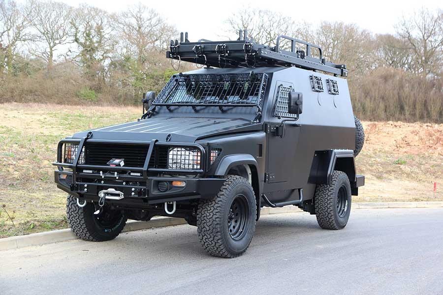"""IDEX 2019: Latest Generation HUNTER Tactical Vehicle is """"Production Ready"""""""