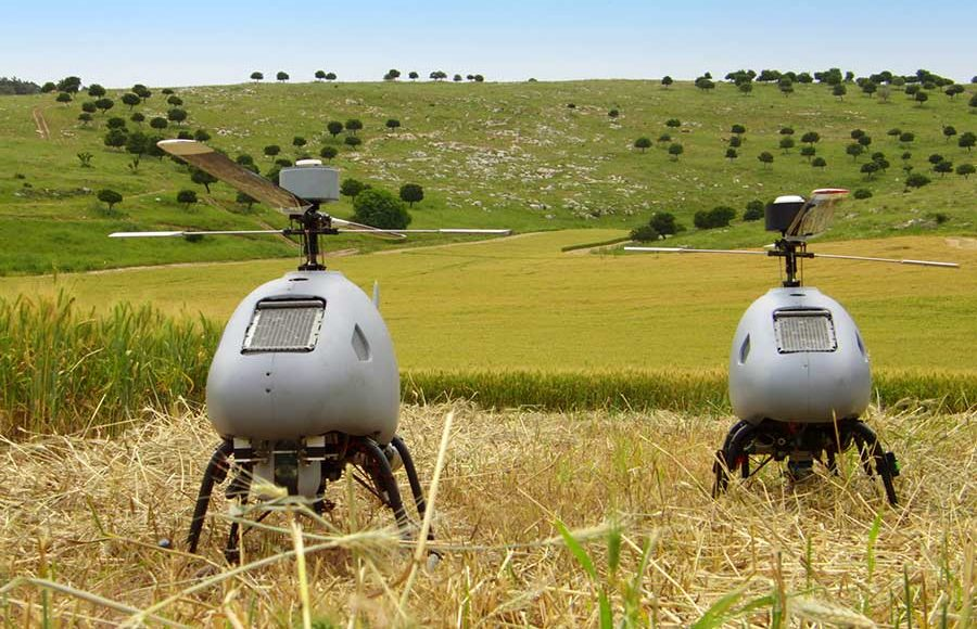 Israeli-Company-Is-Offering-Rotary-Unmanned-Aerial-Vehicle-(RUAV)-to-India.