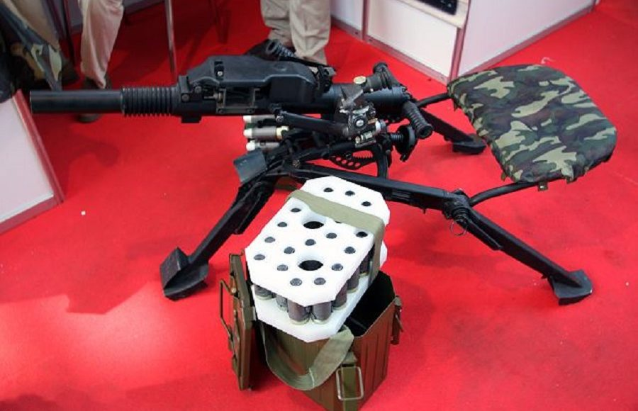 Russia's Latest AGS-40 Grenade Launcher to be Adapted for Combat Robotics