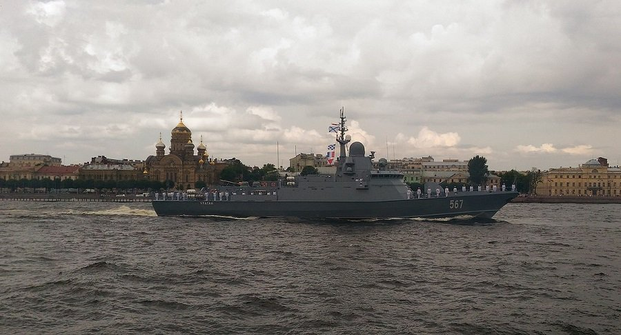 Russian Navy Lays Down the Latest Project 22800 Missile Corvette