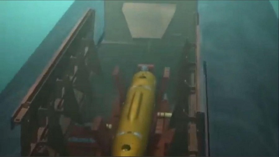 "The Russian Underwater Drone ""Poseidon"" Completed The Key Stage of Trials"
