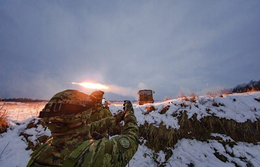 Battle Group Poland rolls into Operation Raider Thunder!