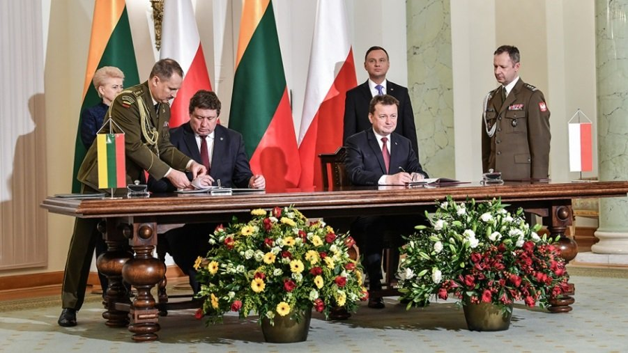 Lithuania and Poland Discussed Military Cooperation Options in Warsaw