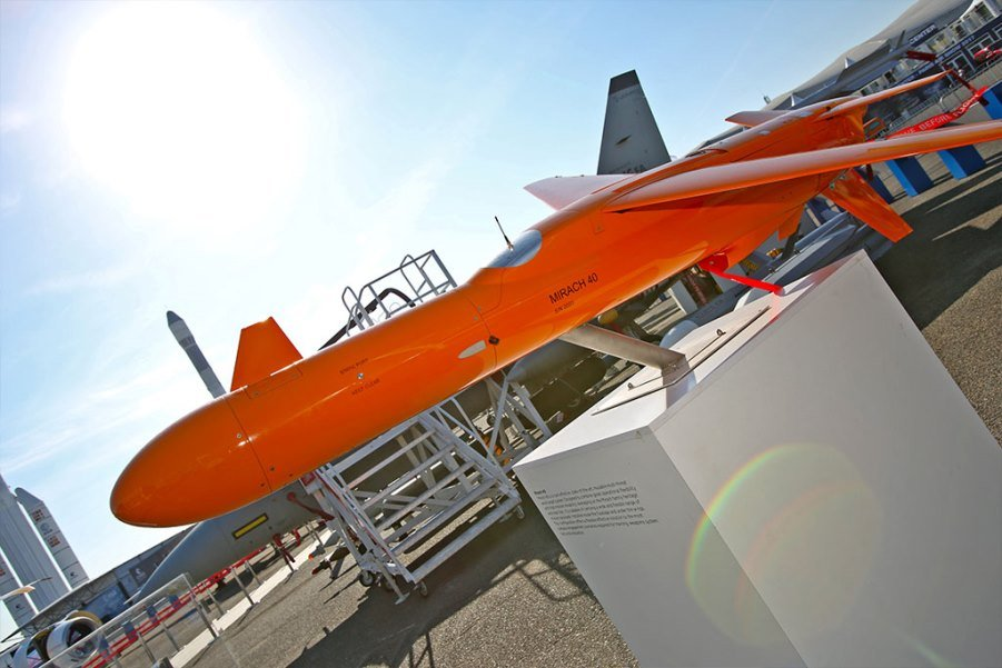 The M-40 Target Drone of Leonardo Flew Its First Live Missions