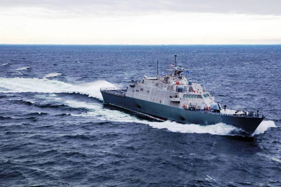 The US Navy Received the Littoral Combat Ship 15