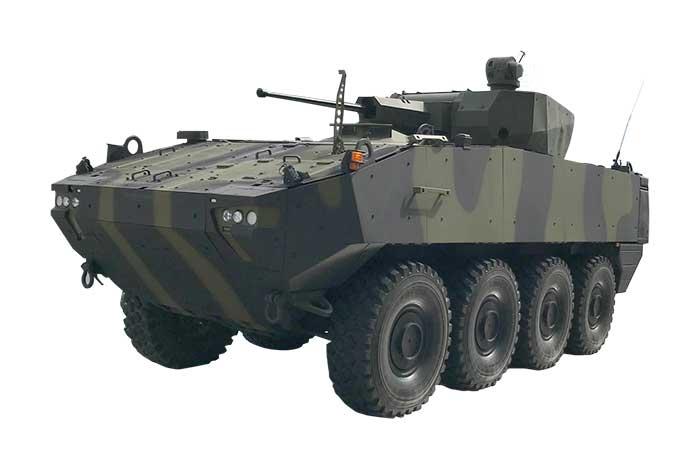 APCs Transformed into Combat Vehicles