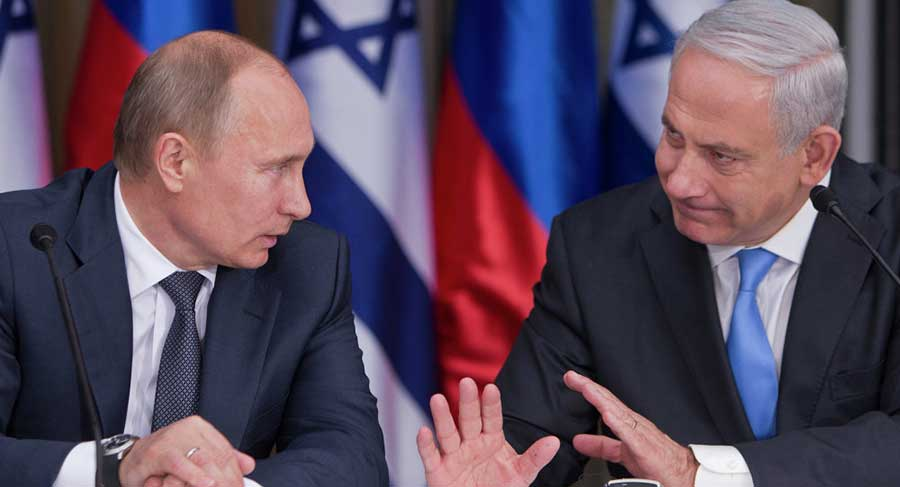 Benjamin Netanyahu Tells Vladimir Putin Israel Will Continue to Operate Against Iranian Targets in Syria