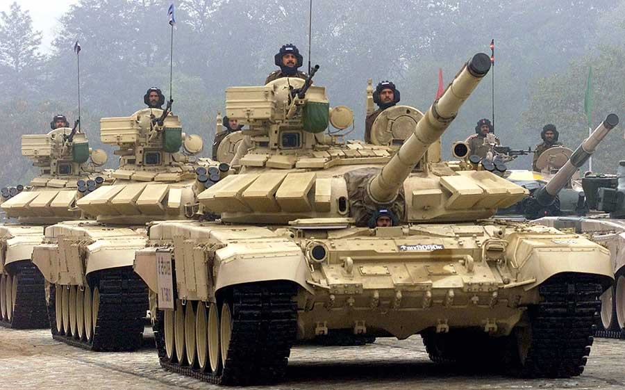 India Makes an Order for an Additional Purchase of Russian T-90 Tanks