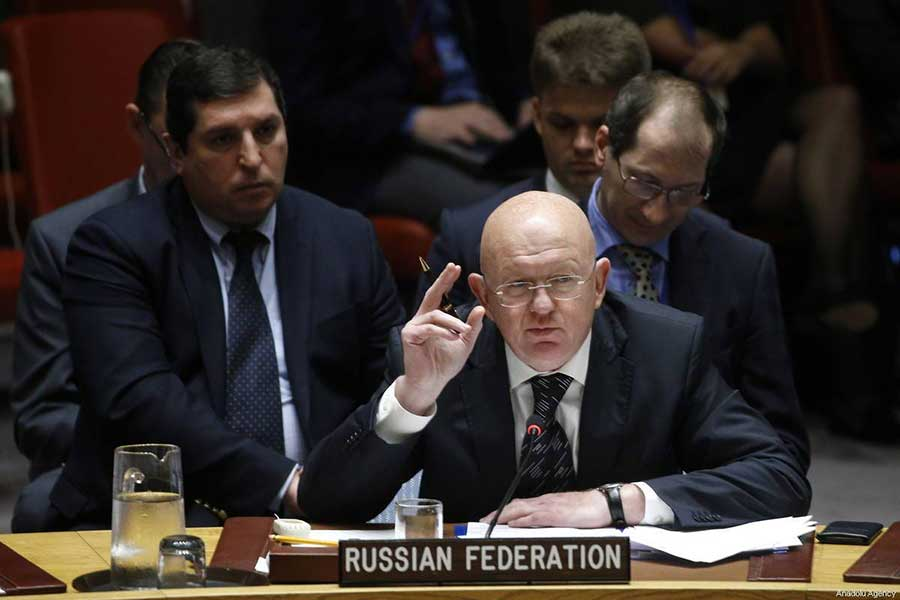Vasily Nebenzya: Everyone Should Leave Syria, Even Russia
