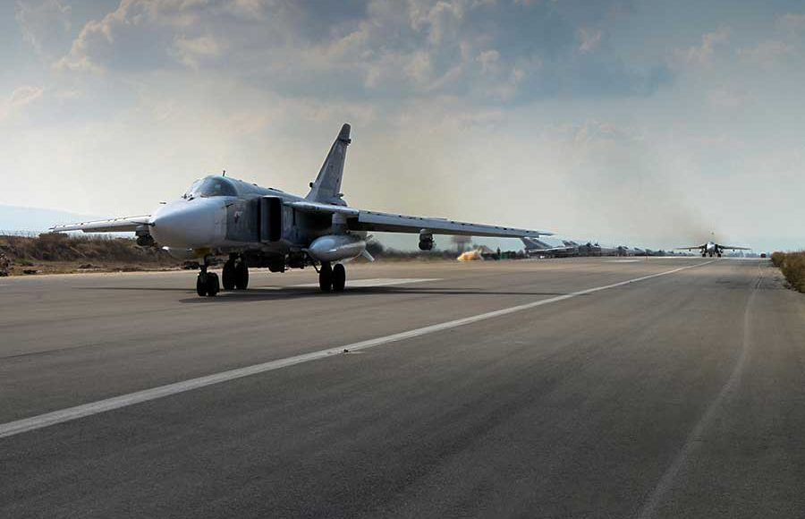 Russia's-Airbase-at-Syrian-Hmeymim-Came-Under-Shelling-by-Militants