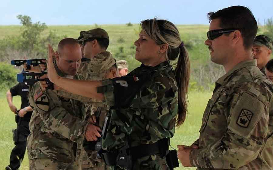 The-Bulgarian-Military-Police-and-the-US-National-Guard-Begin-a-Joint-Exercise
