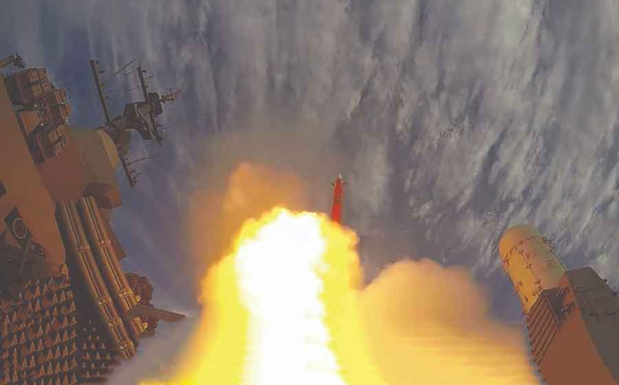 The-Indian-Navy-Conducted-a-Successful-Fire-of-the-Medium-Range-Surface-to-Air-Missile