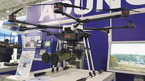 Belarus-Has-Unveiled-Three-New-Weaponised-Multicopter-Unmanned-Aircraft-Systems-(UASs)