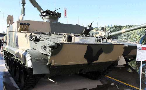 Russian-Hi-tech—Floating-Armored-Personnel-Carrier-with-a-Remote-Controlled-Combat-Module