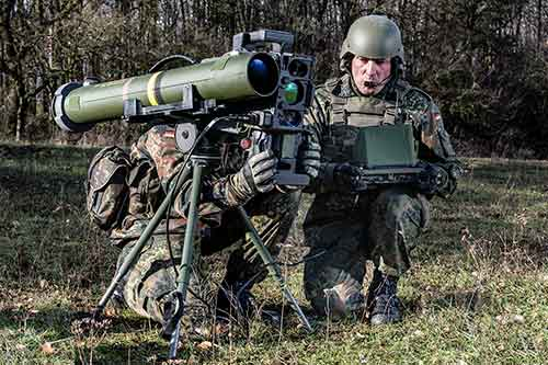 The German Army Has Finalized Its Annual Training in Firing of SPIKE LR ATGM Missile