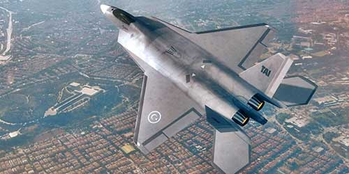 Turkey-to-Display-Its-Own-5th-Gen-Stealth-Fighter-Jet-at-the-Paris-for-First-Time-TAI-TF-X