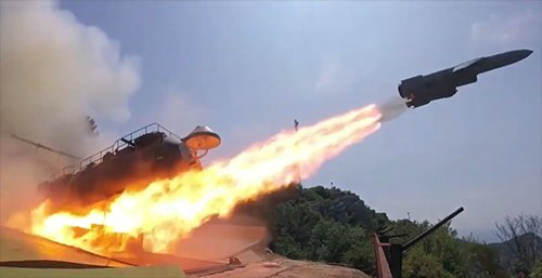 Firing-Test-of-Russian-Coastal-Anti-Ship-Missile-Defence-System-UTES–(Sotka)—Video