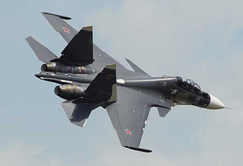 Russia Sells to India's Air Force 18 Russian-Made New Sukhoi Su-30MKI Fighter Jets