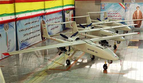 The-Home-Made-'Mohajer-6'-Combat-UAVs-Have-Been-Delivered-to-Iranian-Grand-Force