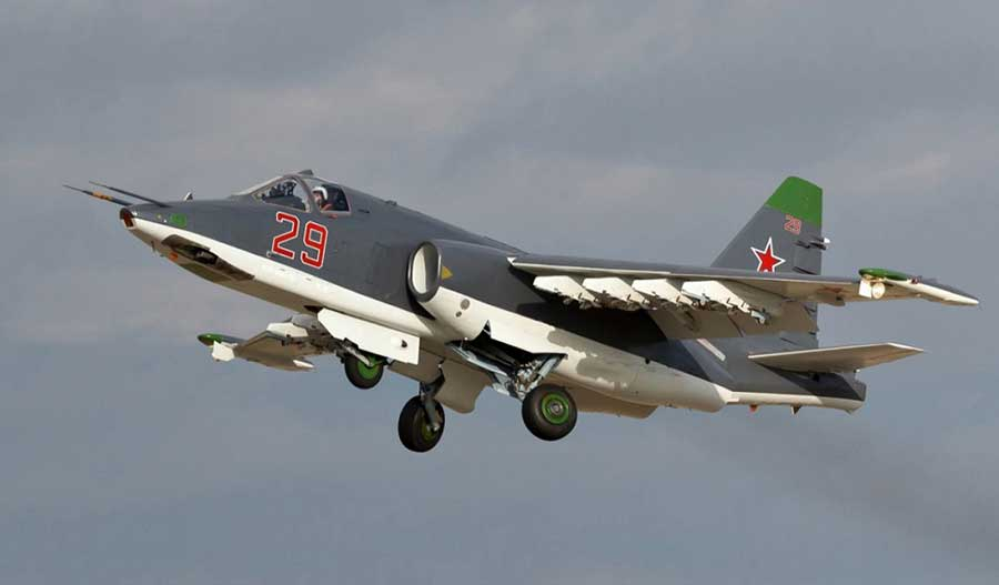 Russian-Su-25SM3-comes-with-new-upgrades