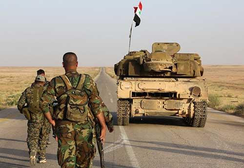 War-in-Syria—Syrian-Army-Repels-Terrorist-Attacks-Near-al-Zakat-Hasraya-at-Last-24-Hours