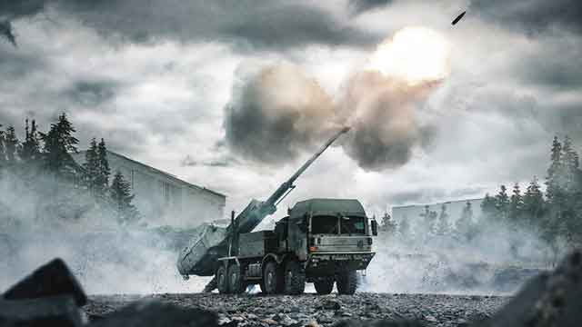 BAE-Systems-Has-Unveiled-a-New-ARCHER-Mobile-Howitzer-at-DSEI