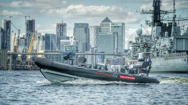 DSEi-2019-BAE-Systems-showcases-unmanned-surface-vessels-integration-with-Navy