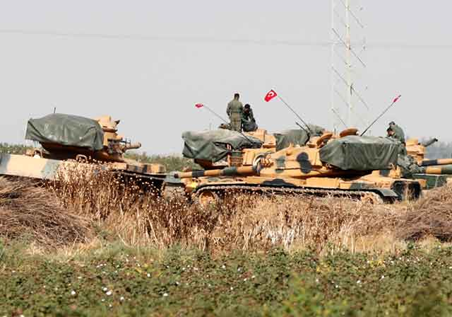 Israeli-Upgraded-Tanks-are-Used-by-Turks-in-Their-Offensive-in-Syria