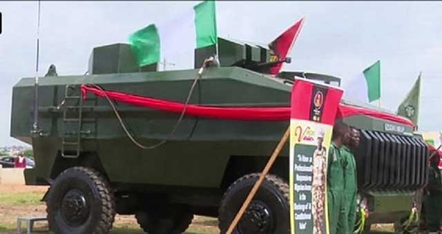 Nigerian-Defence-Industry-Unveils-Its-Own-Ezugwu-4×4-Armored-Vehicle