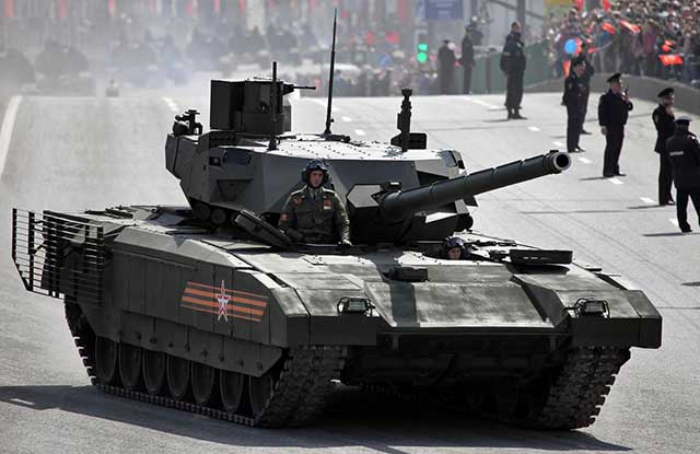 T-14 Armata vs. M1A Abrams: the Russian Tank Takes an Advantage
