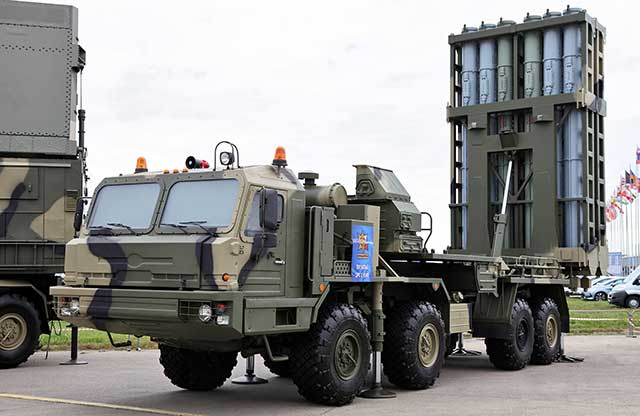 After-arming-with-the-S-400s,-the-Russian-MoD-has-received-a-new-S-350-anti-aircraft-missile-system