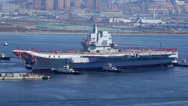 China already has the world's second-largest aircraft carrier