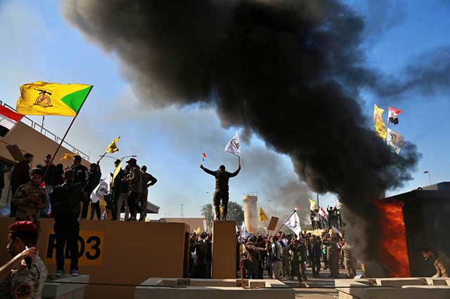 Attack-on-US-Embassy-in-Iraq-protesters-middle-east