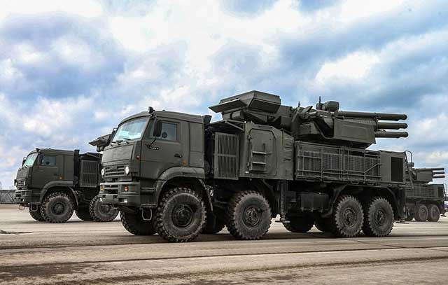 Russian anti-aircraft missile and cannon system Pantsyr get hypersonic missile