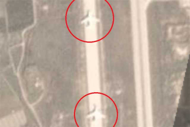Russian strategic bombers or transport aircraft have landed in Syria?