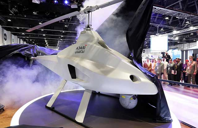 UAE-unveils-its-first-locally-made-vertical-take-off-and-landing-drone