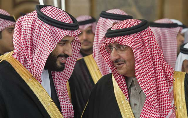 Saudi-King's-brother-and-nephew-were-detained-on-charges-of-treason