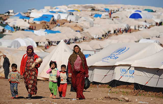 Steppes-fire-did-coronavirus-enter-Syrian-refugee-camp