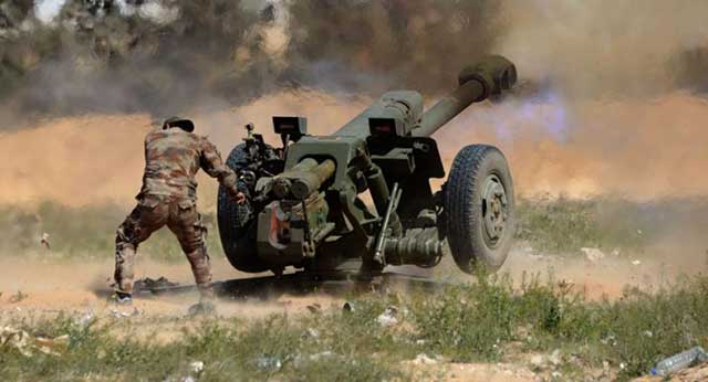 Syrian-military-forces-carried-out-missile-strikes-on-a-Turkish-positions