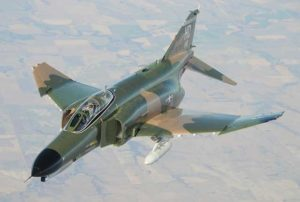 U.S.-made F-4 Phantom Fighter jet