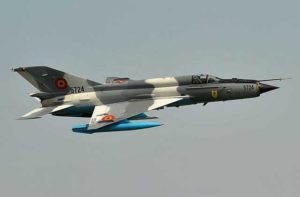 USSR-made MiG-21 fighter jet