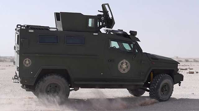Qatar-donated-dozens-of-armored-vehicles-to-the-Jordanian-army